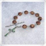 ローズは玉を付ける指の数珠および十字指の数珠(IO-CE061)に