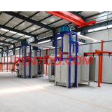 Powder professionale Painting Line per Electrostatic Powder Coating