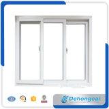 Personalizado 6mm perfil doble cristal PVC / PVC de plástico abatible Ventana / ventana deslizante