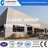 El almacén de la estructura de acero/prefabricó el almacén ligero de la estructura de acero