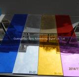 Folha de espelho anti-UV e anti-risco de policarbonato para decoração
