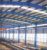 Alta calidad Logitic Prefab Workshop Buildings con Crane