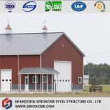De Prefab Beweegbare Bouw van het staal voor LandbouwPakhuis