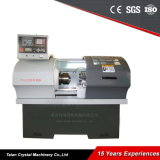 Tipo tipo automático máquina Ck6132 da torreta do grupo de Lahte do torno do CNC
