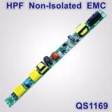 fuente de alimentación sin aislar de la luz del tubo de 12-23W Hpf con EMC QS1169