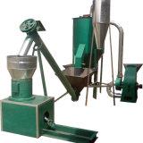 기계를 만드는 암소 똥거름 펠릿