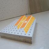 Perforado Mineral Acústica Junta de fibra