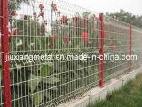 Jardin de sûreté clôturant le panneau
