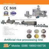 Künstliche Reis-Nahrungsmittelaufbereitende Zeile