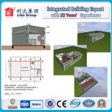 건축 디자인 강철 구조물 창고 강철 구조물 2층 건물