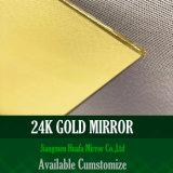 Le miroir d'or a teinté le miroir coloré par miroir Cuivre-Libre