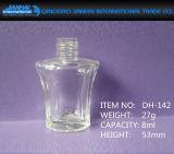 De duidelijke Lege Fles van het Nagellak van het Glas van de Douane voor Schoonheidsmiddelen