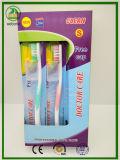 Heiße Verkaufs-Pakistan-Zahnbürste mit freier Schutzkappe