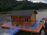 Piattaforma di plastica del pontone di galleggiamento
