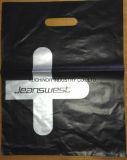 Bolsa cortada con tintas de la corrección para el boutique