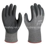 Анти--Отрежьте перчатку работы с стальным волокном (ND8097)