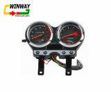 Instrumento da motocicleta Ww-7259, peça da motocicleta, velocímetro da motocicleta GS125,
