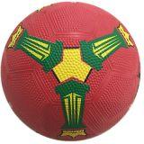 Le football coloré en caoutchouc de la taille 3