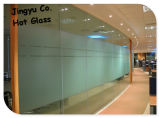 O ácido quente da venda 4-12mm gravou o vidro de vidro e geado para a venda por atacado