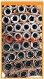 Schwarzes oxidierte Stahlzahnriemen-Laufwerk mit Pilotausbohrung