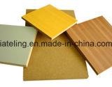 Деревянный MDF бумаги меламина отделки зерна
