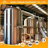 Linha de Brewring do tanque da fabricação de cerveja do elemento de aquecimento da fabricação de cerveja