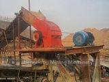 Triturador de maxila para primeiramente esmagar, triturador de martelo para o triturador secundário, terciário