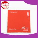 Выбитая напечатанная ткань чистки Microfiber для подгонянного логоса