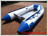 アルミニウム床(FWS-D290)が付いている膨脹可能なボート