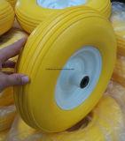 gomma della gomma piuma della carriola 16X4.00-8 e rotella dell'acciaio