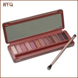 Hete Verkopende Oogschaduw 12 van de Make-up de Oogschaduw van Kleuren met Brusher