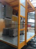 O Ce novo aprovou o elevador da construção de 2 toneladas com porta lateral