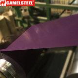 Ferro rivestito della lamiera di acciaio della lacca