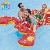 Tiermatratze-Pool-Wasser Belüftung-Fahraufblasbarer Hummer-Gleitbetrieb, sich hin- und herbewegender Fußboden, Luftmatraze