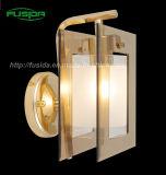Iluminación de la lámpara del hierro clásico de la alta calidad y de pared de cristal/de la pared (9110/1W)