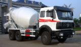 Camion di Beiben di tecnologia/miscelatore di Concret & camion mescolantesi concreti del cemento