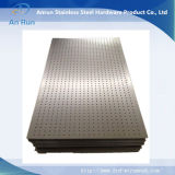 Feuille métallique perforée galvanisée pour tamis filtrant