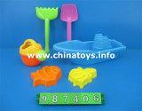 教育おもちゃの子供のギフトプラスチックモデルDIY浜のおもちゃ(987407)