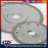 Selling quente Turbo Diamond Saw Blade para Title Granite Marble Cutting
