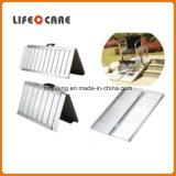 Rampa de alumínio portátil da cadeira de rodas do carregamento