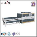Máquina de la prensa de la membrana del vacío del PVC para hacer la puerta y la cabina