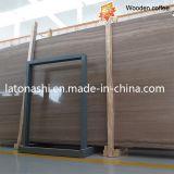 Azulejo de mármol de madera de China Athen para el suelo, Backplash, encimera, losa
