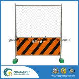 0.9m garantie provisoire de haut de 1.8 M clôturant avec la grille /Door
