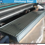 Laminé à froid couvrant la tôle d'acier ondulée galvanisée de matériau de feuille