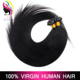 Выдвижение волос конца оптовых человеческих волос Pre-Bonded u Remy бразильских