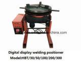Positioner Hbt-50 da soldadura da indicação digital para a soldadura circular