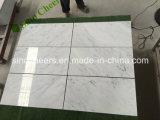 床タイル、壁のためのロビーのカラーラの白い大理石のモザイクのための白い大理石のモザイク・タイル
