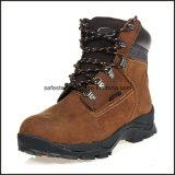 Безопасность Waterproo неподдельной кожи резиновый Boots S3