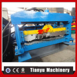 El acero PPGI esmaltó el rodillo del azulejo de azotea que formaba la máquina
