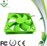 120*120*25mm DC Cooling Fan 중국제 2016년 Hot Selling Green Color Plastic Fan